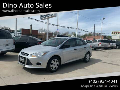 2013 Ford Focus for sale at Dino Auto Sales in Omaha NE