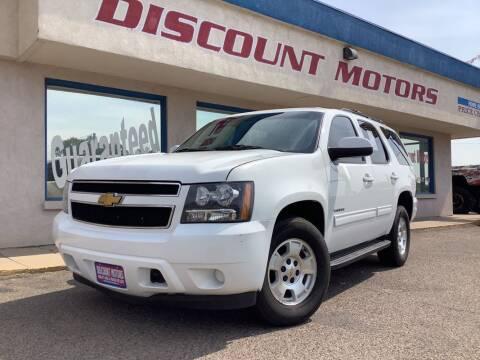 2012 Chevrolet Tahoe for sale at Discount Motors in Pueblo CO