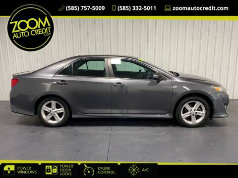 2013 Toyota Camry for sale at ZoomAutoCredit.com in Elba NY