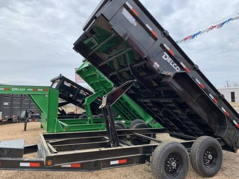 "2021 DELCO  - Dump 83"" X 14' - Tarp  for sale at LJD Sales in Lampasas TX"