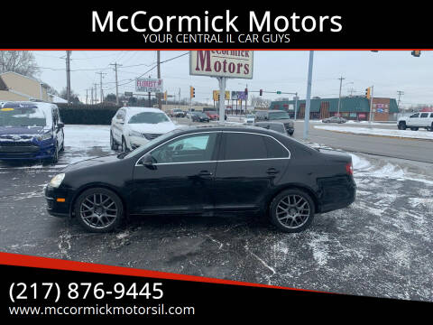 2009 Volkswagen Jetta for sale at McCormick Motors in Decatur IL