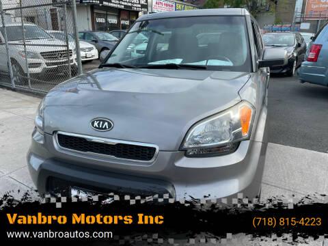 2011 Kia Soul for sale at Vanbro Motors Inc in Staten Island NY