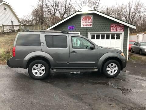 2009 Nissan Pathfinder for sale at KMK Motors in Latham NY