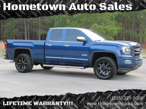 2016 GMC Sierra 1500 for sale at Hometown Auto Sales - Trucks in Jasper AL