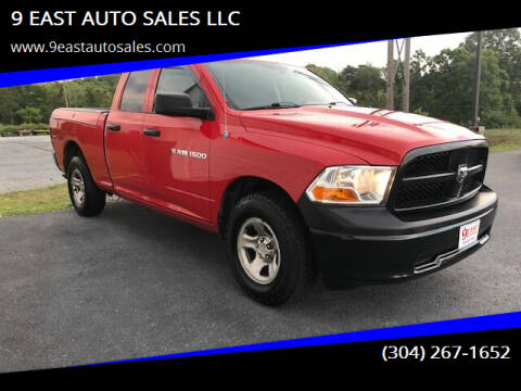 2012 RAM Ram Pickup 1500 for sale at 9 EAST AUTO SALES LLC in Martinsburg WV