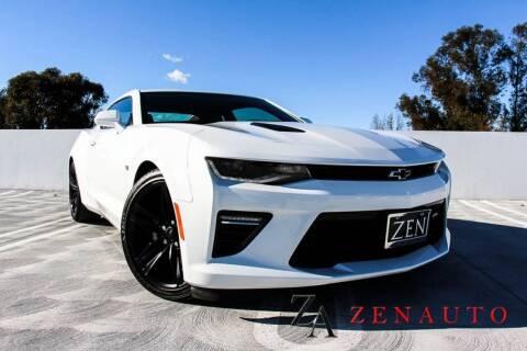 2018 Chevrolet Camaro for sale at Zen Auto Sales in Sacramento CA