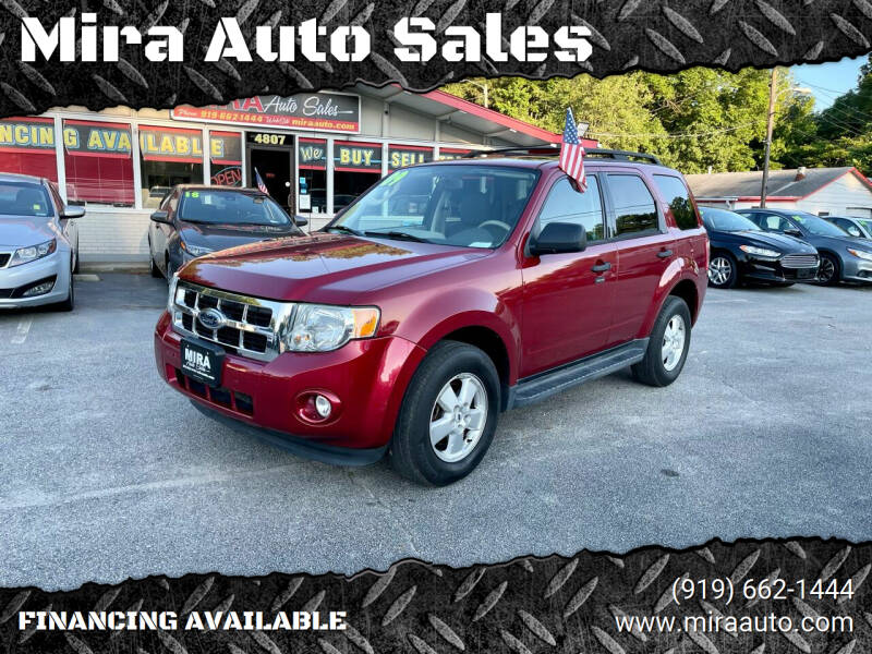 2009 Ford Escape for sale at Mira Auto Sales in Raleigh NC
