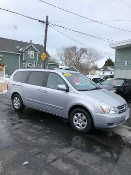 2007 Kia Sedona for sale at SHEFFIELD MOTORS INC in Kenosha WI