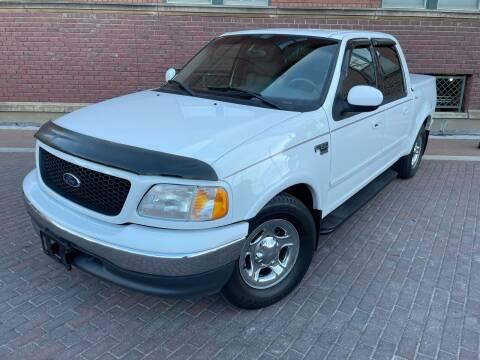 2001 Ford F-150 for sale at Euroasian Auto Inc in Wichita KS