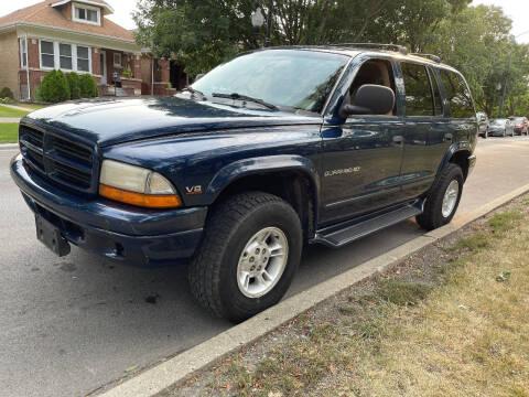 2000 Dodge Durango for sale at Apollo Motors INC in Chicago IL