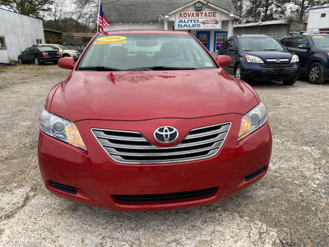 2008 Toyota Camry Hybrid for sale at Advantage Motors in Newport News VA