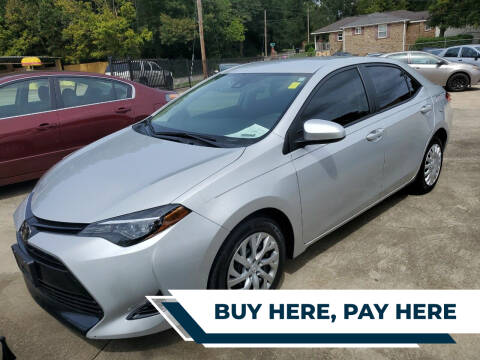 2018 Toyota Corolla for sale at TR Motors in Opelika AL