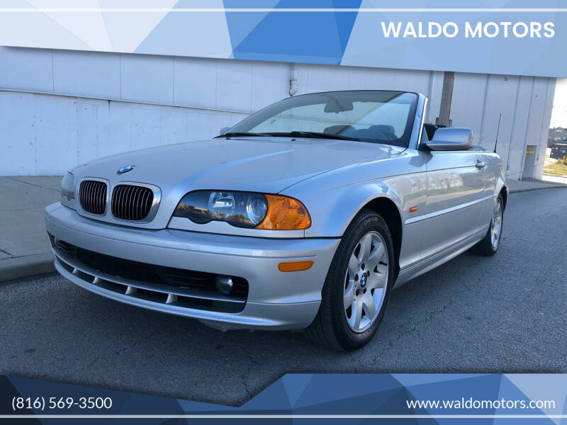 2001 BMW 3 Series for sale at WALDO MOTORS in Kansas City MO