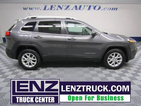 2016 Jeep Cherokee for sale at LENZ TRUCK CENTER in Fond Du Lac WI
