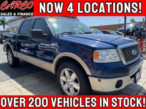 2008 Ford F-150 for sale at CARCO SALES & FINANCE #3 in Chula Vista CA