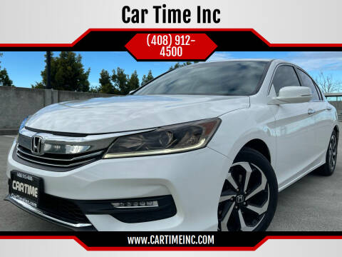 2017 Honda Accord for sale at Car Time Inc in San Jose CA