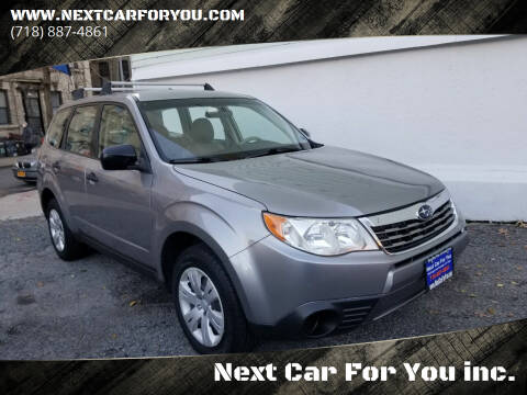 2009 Subaru Forester for sale at Next Car For You inc. in Brooklyn NY