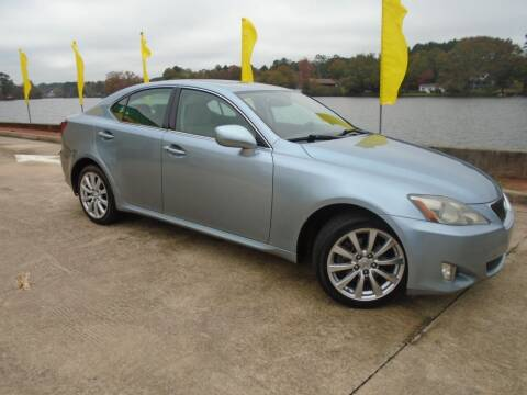 2006 Lexus IS 250 for sale at Lake Carroll Auto Sales in Carrollton GA