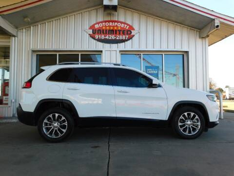 2019 Jeep Cherokee for sale at Motorsports Unlimited in McAlester OK