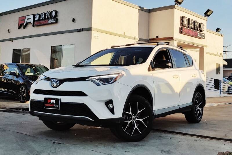 2017 Toyota RAV4 for sale at Fastrack Auto Inc in Rosemead CA