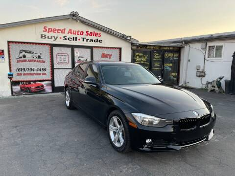 2015 BMW 3 Series for sale at Speed Auto Sales in El Cajon CA