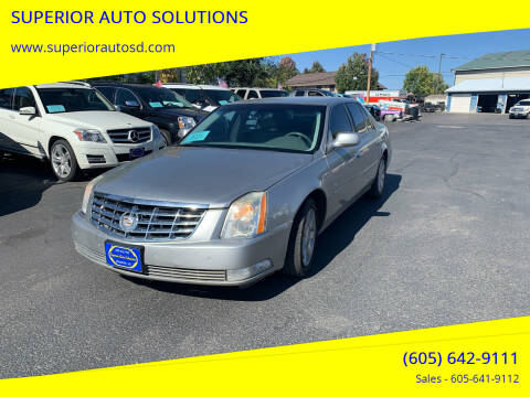 2007 Cadillac DTS for sale at SUPERIOR AUTO SOLUTIONS in Spearfish SD