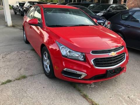 2015 Chevrolet Cruze for sale at Divine Auto Sales LLC in Omaha NE