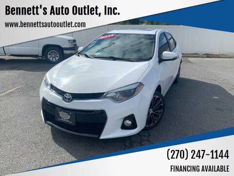 2014 Toyota Corolla for sale at Bennett's Auto Outlet, Inc. in Mayfield KY