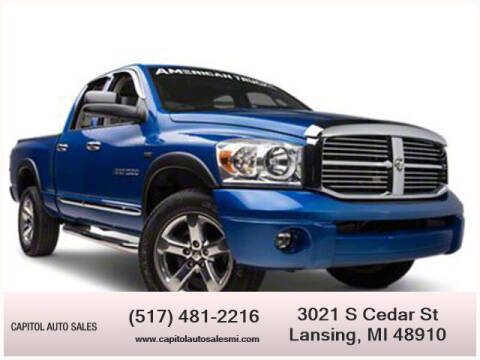 2008 Dodge Ram Pickup 1500 for sale at Capitol Auto Sales in Lansing MI
