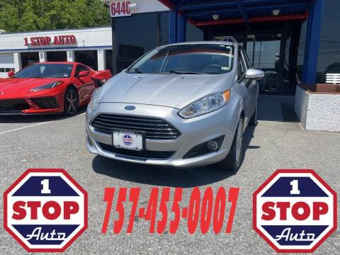 2014 Ford Fiesta for sale at 1 Stop Auto in Norfolk VA