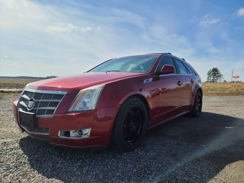2010 Cadillac CTS for sale at Shinkles Auto Sales & Garage in Spencer WI