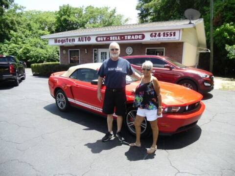 2012 Ford Mustang for sale at HOGSTEN AUTO WHOLESALE in Ocala FL