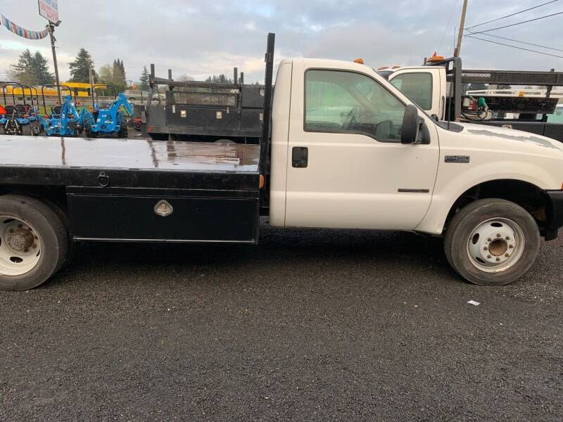 2000 Ford F-450 Super Duty for sale at DirtWorx Equipment - Trucks in Woodland WA