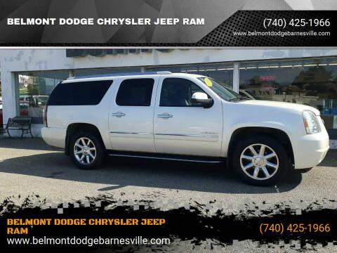 2011 GMC Yukon XL for sale at BELMONT DODGE CHRYSLER JEEP RAM in Barnesville OH
