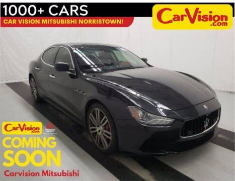 2015 Maserati Ghibli for sale at Car Vision Buying Center in Norristown PA