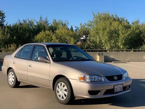 2002 Toyota Corolla for sale at AutoAffari LLC in Sacramento CA