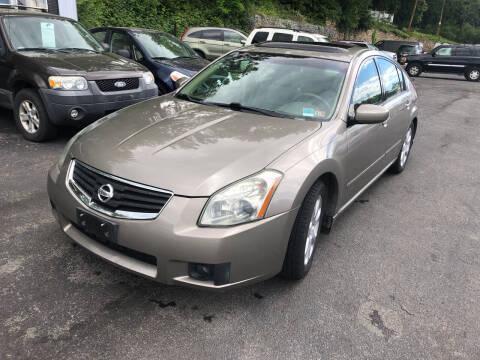 2008 Nissan Maxima for sale at J & J Autoville Inc. in Roanoke VA