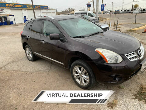 2012 Nissan Rogue for sale at WF AUTOMALL in Wichita Falls TX