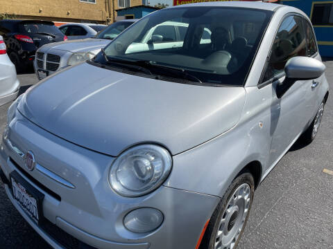 2014 FIAT 500 for sale at CARZ in San Diego CA