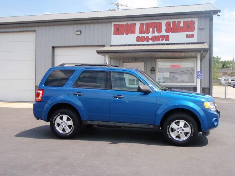 2011 Ford Escape for sale at ENON AUTO SALES in Enon OH