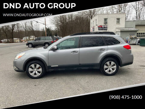 2010 Subaru Outback for sale at DND AUTO GROUP in Belvidere NJ