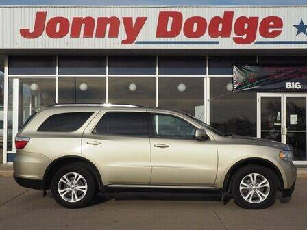 2012 Dodge Durango for sale at Jonny Dodge Chrysler Jeep in Neligh NE
