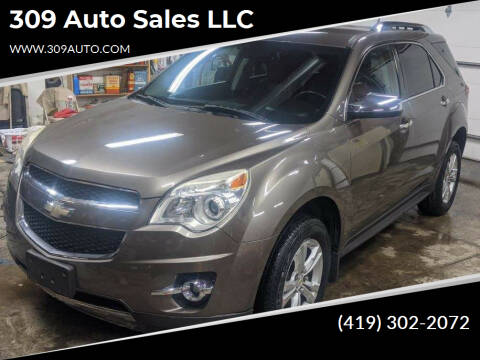 2012 Chevrolet Equinox for sale at 309 Auto Sales LLC in Harrod OH
