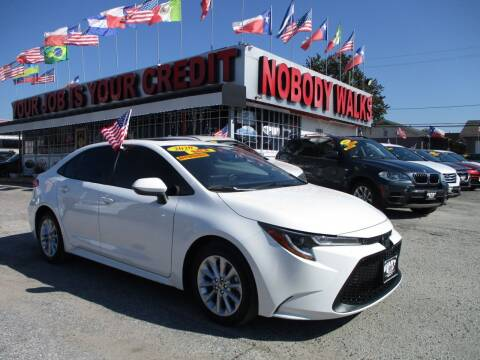 2020 Toyota Corolla for sale at Giant Auto Mart 2 in Houston TX