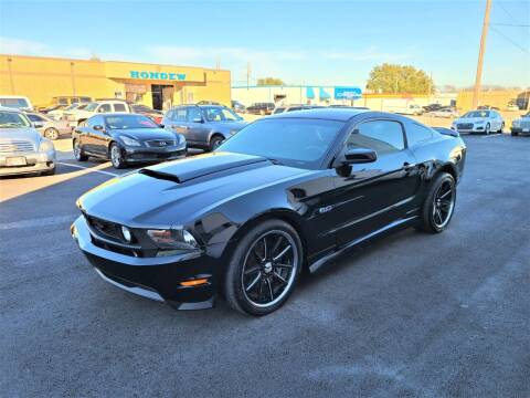 2012 Ford Mustang for sale at Image Auto Sales in Dallas TX