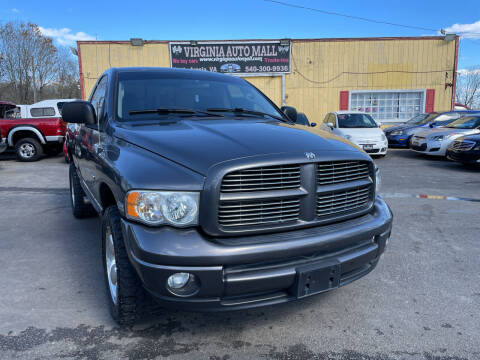 2004 Dodge Ram Pickup 1500 for sale at Virginia Auto Mall in Woodford VA
