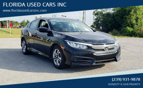 2017 Honda Civic for sale at FLORIDA USED CARS INC in Fort Myers FL