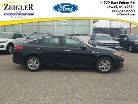 2016 Kia Optima for sale at Zeigler Ford of Plainwell- michael davis in Plainwell MI