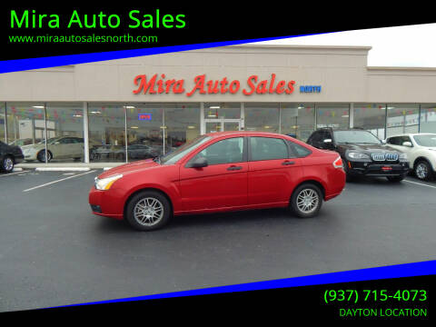 2011 Ford Focus for sale at Mira Auto Sales in Dayton OH