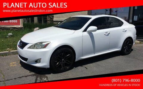 2008 Lexus IS 250 for sale at PLANET AUTO SALES in Lindon UT